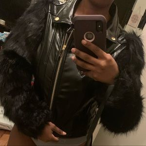 Fashionnova coat size medium